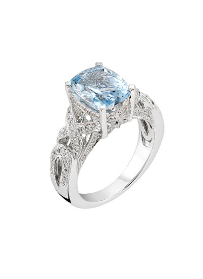 Indian Accessories Designers - Costar - Indian Fine Jewellery - Designer Rings - SOS-SS15-CJ-R11628W-AQ - Aquamarine Stone Ring,import-uploads/Indian Accessories Designers - Costar - Indian Fine Jewellery - Designer Rings - SOS-SS15-CJ-R11628W-AQ - Aquamarine Stone Ring - 2.jpg
