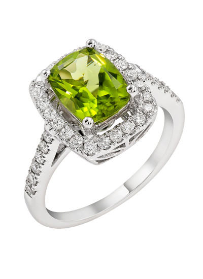 Indian Accessories Designers - Costar - Indian Fine Jewellery - Designer Rings - SOS-SS15-CJ-R11662W-PE - Peridot Stone Ring,import-uploads/Indian Accessories Designers - Costar - Indian Fine Jewellery - Designer Rings - SOS-SS15-CJ-R11662W-PE - Peridot Stone Ring - 2-1.jpg