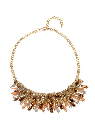Indian Accessories Designers - Rhea - Indian Designer Jewellery - Necklaces - RH-SS15-6101054 - The Gatsby Necklace