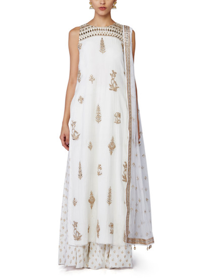 Indian Fashion Designers - Anita Dongre - Contemporary Indian Designer - Ishrat Salwar Suit - AD-SS16-SS16RR274A