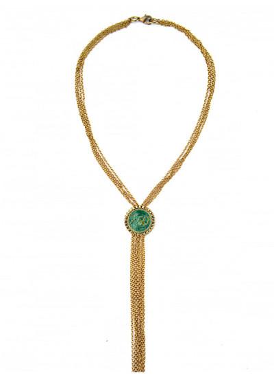 Indian Fashion Designers - Rejuvenate Jewels - Contemporary Indian Designer - Head or Tail Necklace - RJJ-SS16-RJN908