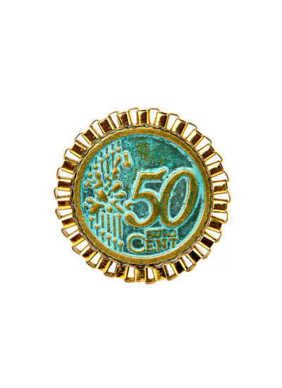 Indian Fashion Designers - Rejuvenate Jewels - Contemporary Indian Designer - 50 50 Ring - RJJ-SS16-RJR258