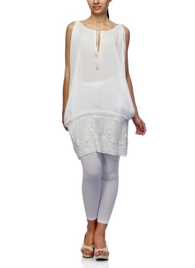 Indian Fashion Designers - Satya Suman - Contemporary Indian Designer - Crush Boho Dress - SS-NO-SS16-STL7