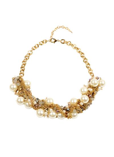 Indian Accessories Designers - Rhea - Indian Designer Jewellery - Necklaces - RH-SS15-6101084 - Celestial Navigation Necklace