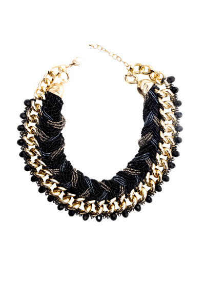 Indian Accessories Designers - Rhea - Indian Designer Jewellery - Necklaces - RH-SS15-9101025 - Timeless Collar Necklace