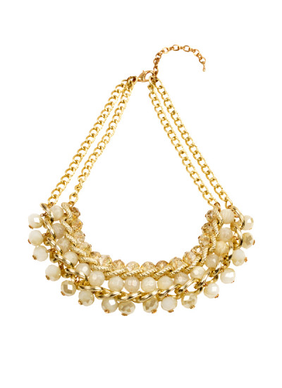 Indian Accessories Designers - Rhea - Indian Designer Jewellery - Necklaces - RH-SS15-9101087 - Spunky Statement Necklace