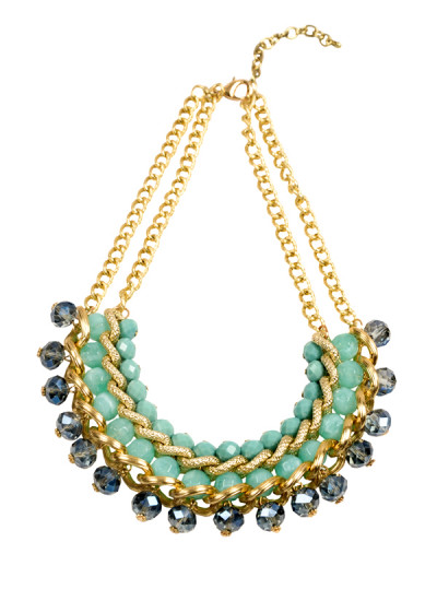 Indian Accessories Designers - Rhea - Indian Designer Jewellery - Necklaces - RH-SS15-9101088 - Escape to Paradise Necklace