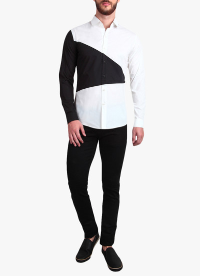 Indian Fashion Designers - Alvin Kelly - Contemporary Indian Designer - Versatile White Casual Shirt - ALK-SS16-ALK-SHT-1169