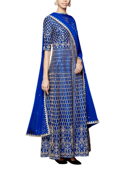 Indian Fashion Designers - Anita Dongre - Contemporary Indian Designer - The Drisana Suit - AD-AW16-PH1-FW16MB079