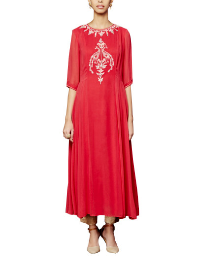 Indian Fashion Designers - Anita Dongre - Contemporary Indian Designer - The Tanirika Tunic - AD-AW16-PH3-FW16MB028