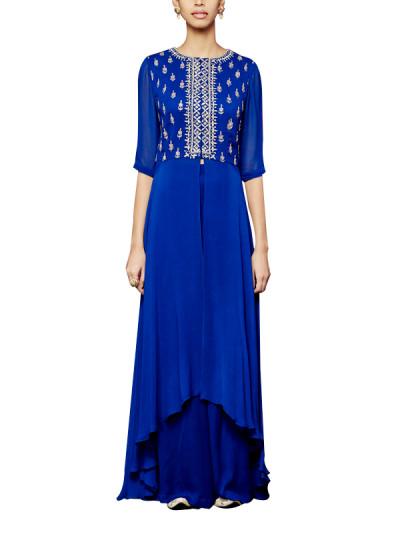 Indian Fashion Designers - Anita Dongre - Contemporary Indian Designer - The Madhushri Sharara - AD-AW16-PH3-FW16MB049