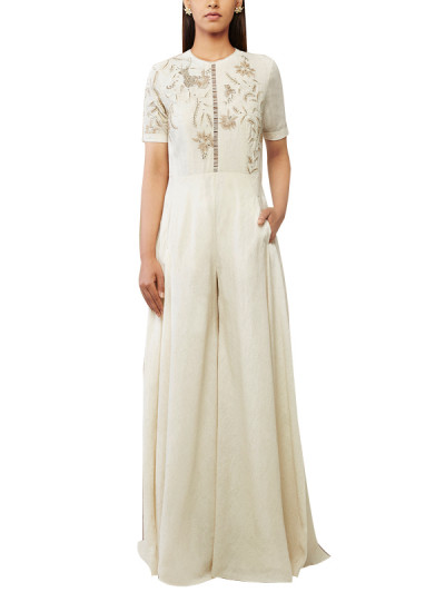 Indian Fashion Designers - Anita Dongre - Contemporary Indian Designer - The Astrid Jumpsuit - AD-SS17-PH-2-SS17ID002