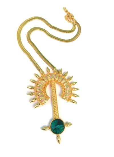 Indian Fashion Designers - Artsie Ville - Contemporary Indian Designer - Aamanda Necklace - ARV-AW16-AVN025