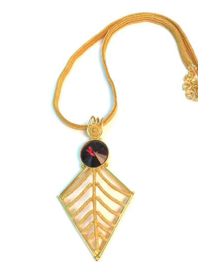 Indian Fashion Designers - Artsie Ville - Contemporary Indian Designer - Beth Necklace - ARV-AW16-AVN026