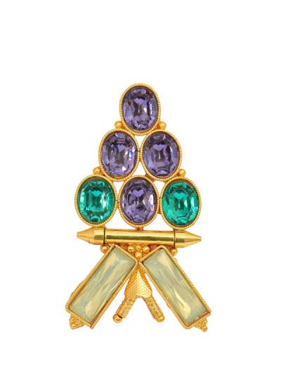 Indian Fashion Designers - Artsie Ville - Contemporary Indian Designer - Tiara Ring - ARV-AW16-AVR002