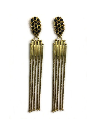 Indian Fashion Designers - Artsie Ville - Contemporary Indian Designer - Thirza II Earrings - ARV-SS17-AVE064