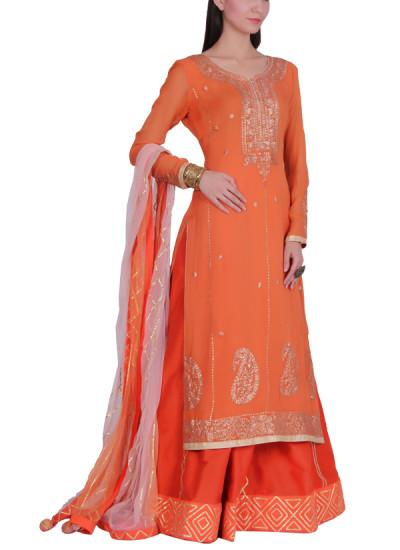 Indian Fashion Designers - Bodhitree - Contemporary Indian Designer - Florenza Salwar Suit - BDT-AW17-BDTR017301