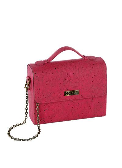 Indian Fashion Designers - Corkiza - Contemporary Indian Designer - Sling Bag in Cork - CKZ-AW16-CKZ02