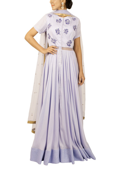Indian Fashion Designers - Kakandora - Contemporary Indian Designer - Lilac Anakarli - KAK-AW16-KAKPF017