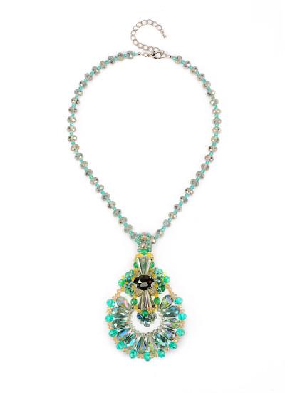 Indian Fashion Designers - Rhea - Contemporary Indian Designer - The Aurora Amulet - RH-AW16-1010001