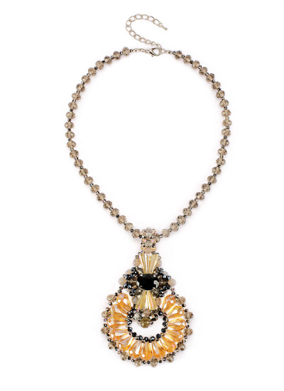 Indian Fashion Designers - Rhea - Contemporary Indian Designer - The Maleficent Amulet - RH-AW16-1010002