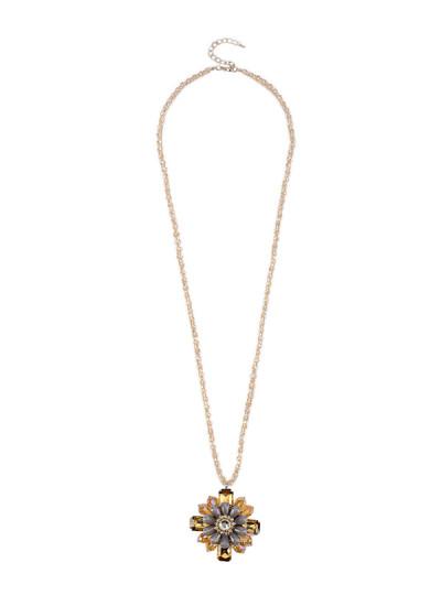 Indian Fashion Designers - Rhea - Contemporary Indian Designer - The Flower Priestess Pendant - RH-AW16-1010005