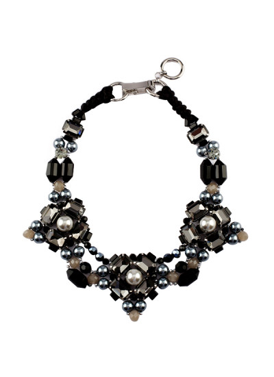 Indian Fashion Designers - Rhea - Contemporary Indian Designer - The Opera In Vienna Necklace - RH-AW16-1010048