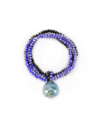 Indian Fashion Designers - Rhea - Contemporary Indian Designer - Ocean Drop Bracelet - RH-AW16-1020013
