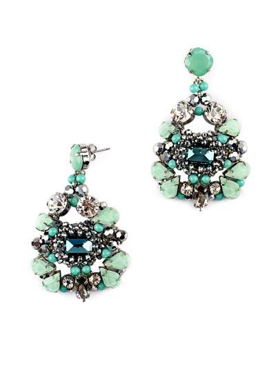 Indian Fashion Designers - Rhea - Contemporary Indian Designer - The Cali Coast Earrings - RH-AW16-1030043
