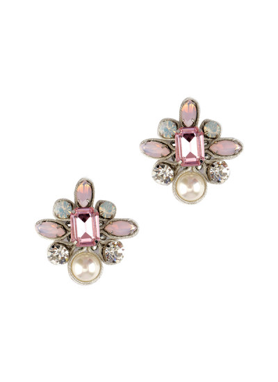 Indian Fashion Designers - Rhea - Contemporary Indian Designer - The Stop at St Tropez Earrings - RH-AW16-1030047