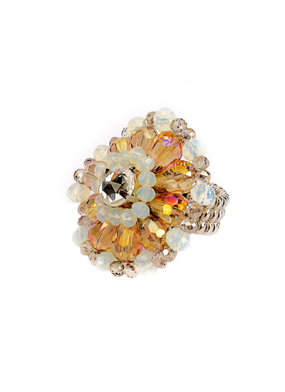 Indian Fashion Designers - Rhea - Contemporary Indian Designer - The Moon Priestess Ring - RH-AW16-1040003