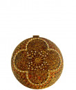 Indian Fashion Designers - Meera Mahadevia - Contemporary Indian Designer - Floral Round Clutch - MM-SS16-MM-6743