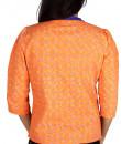 Indian Fashion Designers - Pulpypapaya - Contemporary Indian Designer - Chic Khadi Tux Jacket - PP-SS16-KHJKORF5008AJJJ