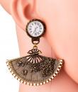 Indian Fashion Designers - Rejuvenate Jewels - Contemporary Indian Designer - Time Flies Earrings - RJJ-SS16-RJE549