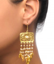 Indian Fashion Designers - Silvermerc - Contemporary Indian Designer - Sterling Silver Dangling Earrings - SM-SS16-SME-826