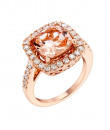 Indian Fashion Designers - Strand of Silk - Contemporary Indian Designer - Dazzling Diamond Cut Ring - SOS-AW15-CJ-R11676P-MO