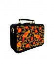 Indian Fashion Designers - Tresclassy - Contemporary Indian Designer - Black Intricate Embroidered Briefcase - TC-SS16-TC1525