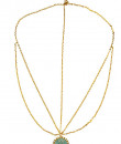 Indian Fashion Designers - Rejuvenate Jewels - Contemporary Indian Designer - Single Coin Headband - RJJ-SS16-RJMM135