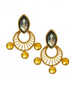 Indian Fashion Designers - Artsie Ville - Contemporary Indian Designer - Aamber Earrings - ARV-AW16-AVE015