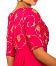 Indian Fashion Designers - Kakandora - Contemporary Indian Designer - Mid Slited Anarkali - KAK-AW16-KSS1638