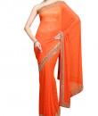 Indian Fashion Designers - Kyra - Contemporary Indian Designer - Aztec Passion Saree - KYA-AW16-KO003
