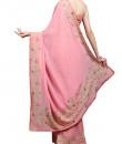 Indian Fashion Designers - Kyra - Contemporary Indian Designer - Rosy Affair Saree - KYA-AW16-KP008