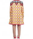 Indian Fashion Designers - Mr. Ajay Kumar - Contemporary Indian Designer - Kashi Long Cape Coat - MAK-AW16-AKAW16-JK02
