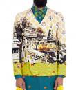 Indian Fashion Designers - Mr. Ajay Kumar - Contemporary Indian Designer - Golden Ghat Jacket - MAK-AW16-AKAW16-JK03