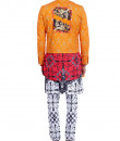 Indian Fashion Designers - Mr. Ajay Kumar - Contemporary Indian Designer - Golden Dawn Jacket - MAK-AW16-AKAW16-JK04
