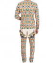Indian Fashion Designers - Mr. Ajay Kumar - Contemporary Indian Designer - Pilgrim Printed Jacket - MAK-AW16-AKAW16-JK05