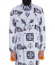 Indian Fashion Designers - Mr. Ajay Kumar - Contemporary Indian Designer - Shiv Trench Coat - MAK-AW16-AKAW16-JK09