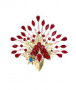 Indian Fashion Designers - Nine Vice  - Contemporary Indian Designer - Mystery Brooch - NIV-AW16-MR-B-1