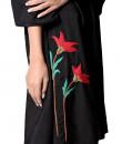 Indian Fashion Designers - Paar - Contemporary Indian Designer - Black Off-shoulder Dress - PAR-AW16-OSTCF015