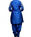 Indian Fashion Designers - Prisha by Shivesh - Contemporary Indian Designer - Striking Raw Silk Tunic Set - PRSH-AW16-Swasti-06
